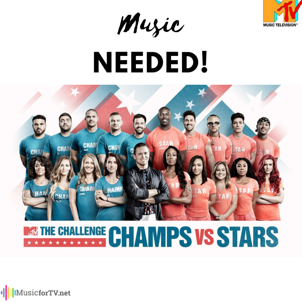 MTV The Challenge Season 33 - music needed for TV placement