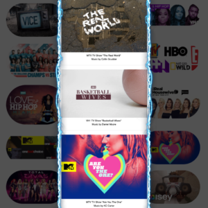 Music For TV - TV Placements on Networks Like MTV VH1 and more
